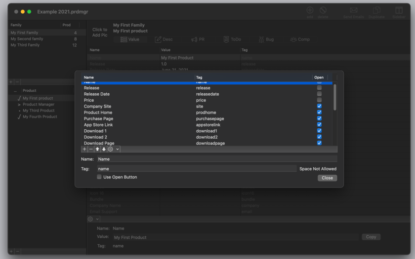 Product Manager 2.5 Mac 破解版 产品管理工具-麦氪搜(iMacso.com)